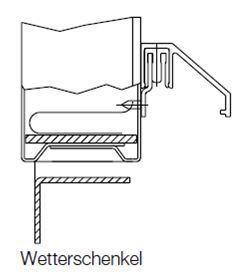 wetterschenkel regenleiste unten ihr h rmann fachh ndler f r feuerschutzt ren. Black Bedroom Furniture Sets. Home Design Ideas